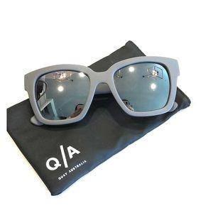 Quay, Gray Mirrored Neerim Sunglasses